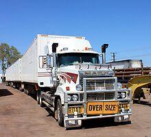 Road Train, Truck City, Northern Territory by Robert Stephens