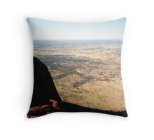View from Uluru Throw Pillow