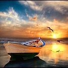 Pacific Sunset 12b by Carlos Casamayor
