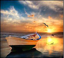 Pacific Sunset 12b Photographic Print