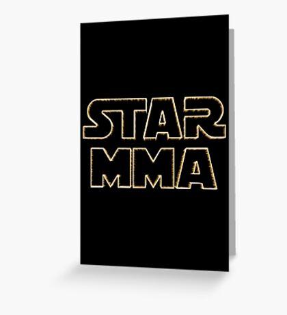 STAR MMA Greeting Card