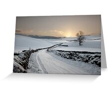 Winter In Winterburn Greeting Card