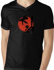 Okami Logo Mens V-Neck T-Shirt