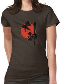 Okami Logo Womens Fitted T-Shirt
