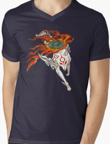 Amaterasu Mens V-Neck T-Shirt