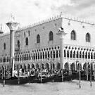 St. Mark's Square & Gondolas by daphsam