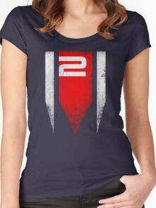 ME2 Grunge Women's Fitted Scoop T-Shirt
