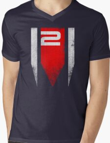 ME2 Grunge Mens V-Neck T-Shirt