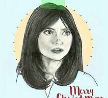 Merry Christmas, Clara Oswald by perphation