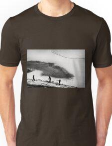 Having fun..  Unisex T-Shirt