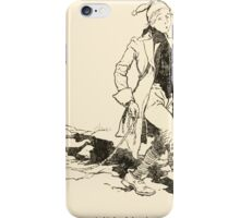 Snowdrop & Other Tales by Jacob Grimm art Arthur Rackham 1920 0091 Nothing on the Rope iPhone Case/Skin