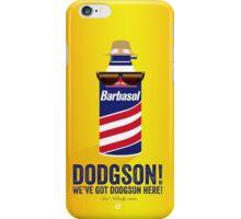 Jurassic Park - Dodgson Print iPhone Case/Skin
