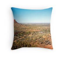 View from Kings Canyon Throw Pillow