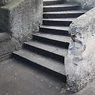 Curved Steps The Rocks by iami