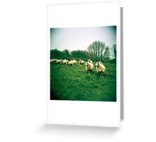 An Audience Greeting Card