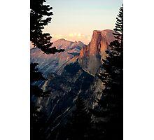 Half Dome Alpenglow in Yosemite Photographic Print