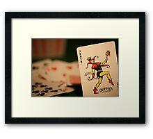 Always the Joker #1 Framed Print