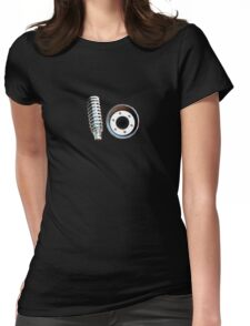 Spring Exhaust Womens Fitted T-Shirt