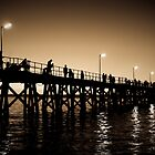 A Hot Night - Sepia by Danny Clarkson