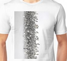 Silver Catkin - silver and quartz Unisex T-Shirt