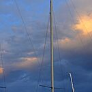 Three Masts by Joanna Beilby