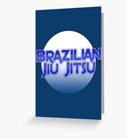 Brazilian Jiu Jitsu Greeting Card