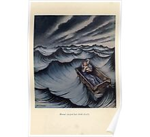 A Wonder Book by Nathaniel Hawthorne art Arthur Rackham 1851 0031 Danae Clasped Her Child Closely Poster