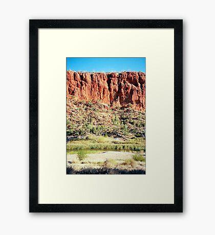 Glen Helen Framed Print