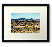 Finke River Framed Print