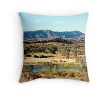 Finke River Throw Pillow
