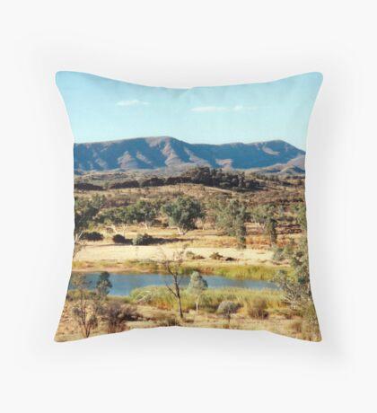 Finke River Throw Pillow