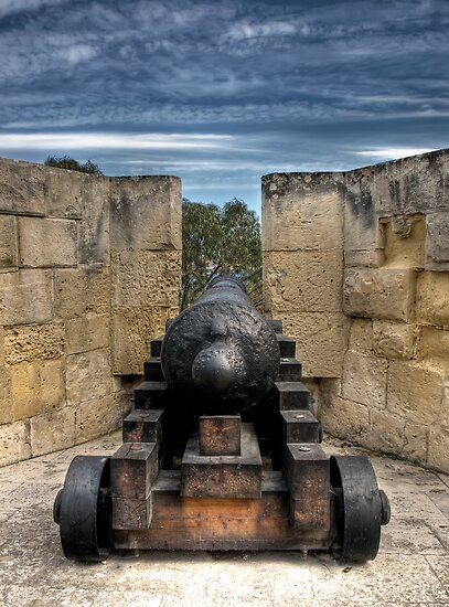 Medieval Cannon by William Attard McCarthy