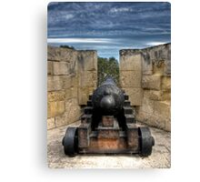 Medieval Cannon Canvas Print