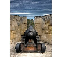 Medieval Cannon Photographic Print