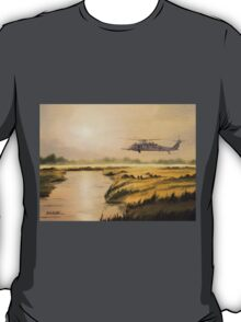 Pave Hawk Helicopter HH-60 On A Mission T-Shirt
