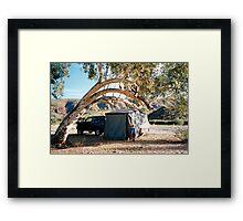 Finke Camping Framed Print