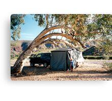 Finke Camping Canvas Print