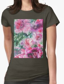 watercolor flowers T-Shirt