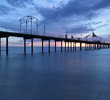 Brighton Beach Jetty by Gary Cummins