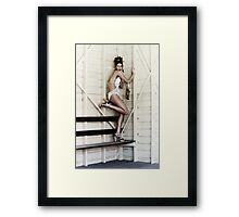 Db swimwear 2 Framed Print