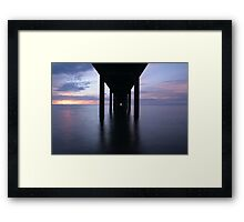 Below The Above Framed Print