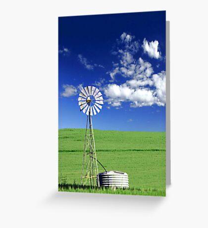 Farm Windmill  Greeting Card