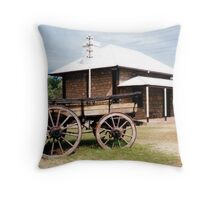Telegraph Station Throw Pillow