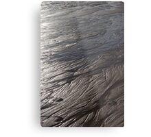 Silver sands Metal Print