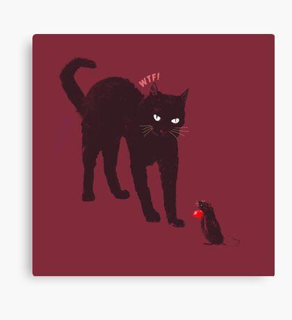 Cat & Mouse Canvas Print