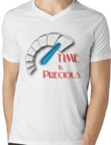 Time is Precious Mens V-Neck T-Shirt