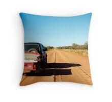 The Plenty Highway Throw Pillow