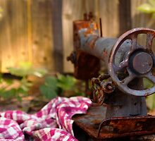 Rustic sewing machine by seby