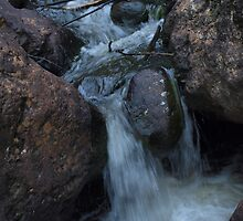 Tranquil Water - mini waterfall by Driussi