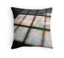 Shades of psychedelia Throw Pillow